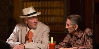 "David Lynch und Harry Dean Stanton in ""Lucky"""