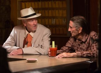 """David Lynch und Harry Dean Stanton in """"Lucky"""""""