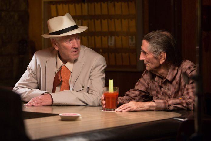 David Lynch und Harry Dean Stanton in