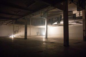 Raum im Kraftwerk Bille. Foto: Louisa Schwope