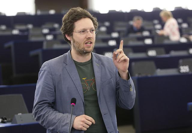 Jan Philipp Albrecht im EU-Parlament. Foto: Europäisches Parlament 2017