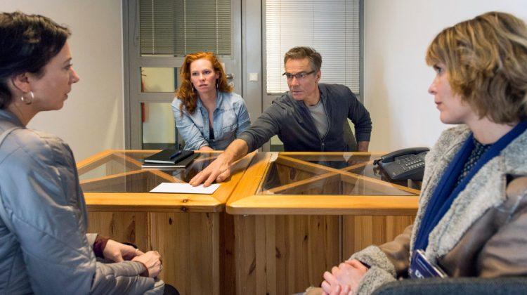 Im Gefängnis sehen sich Judith Lorenz und Volker Lehmann wieder.