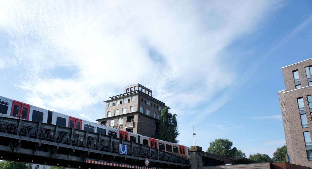 Hamburg Linie U3 typisch Bahnfahrer HVV