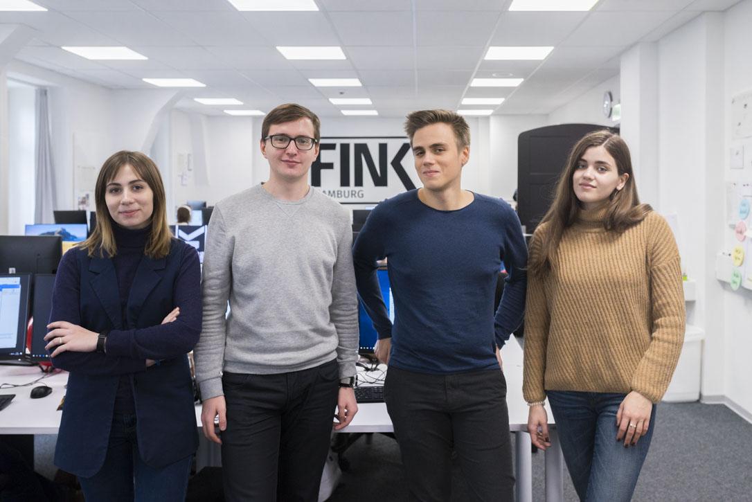 HAW HAMBURG Russland Studierende zu Beusch bei FINK.Hamburg Journalismus