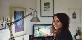 Jana Walczyk steht kurz vor ihrem Masterabschluss im Fach Illustration.