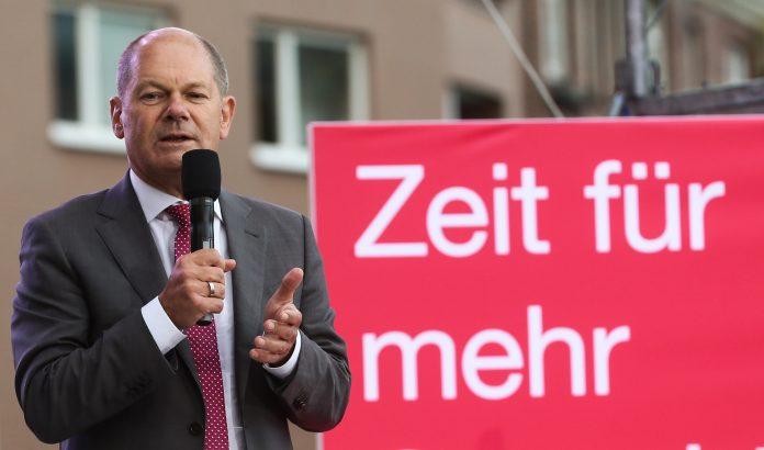 Olaf Scholz Mindestlohn