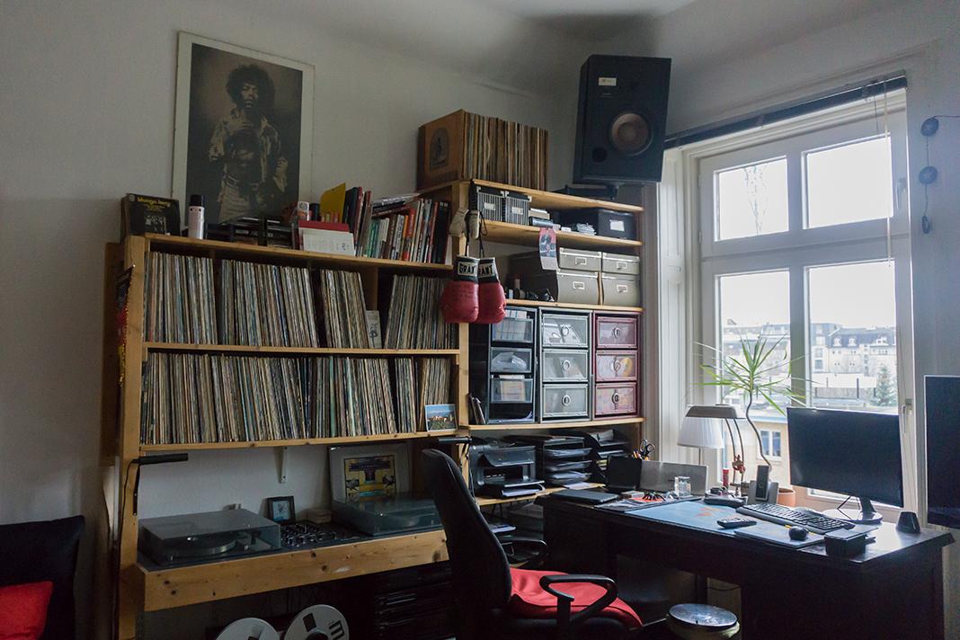 Rollos WG-Zimmer. Foto: Johanna Felde
