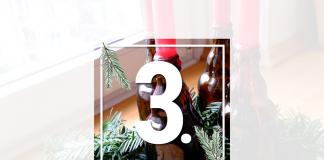 Adventskranz Bierflaschen DIY