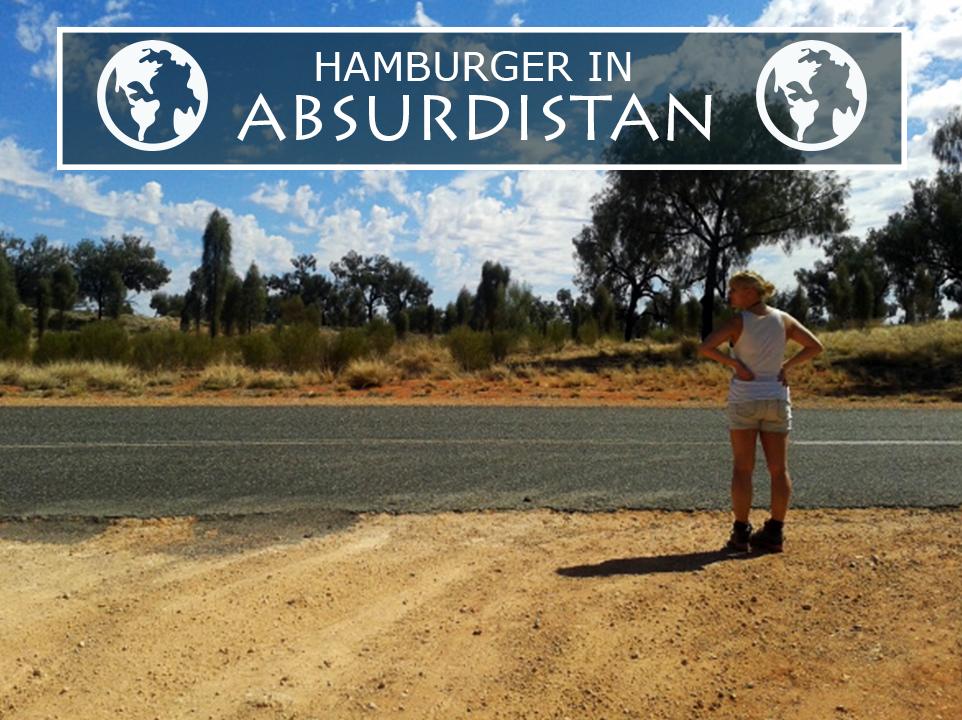 Eigenartiger Zwischenstopp beim Hitchhiking in Australien.