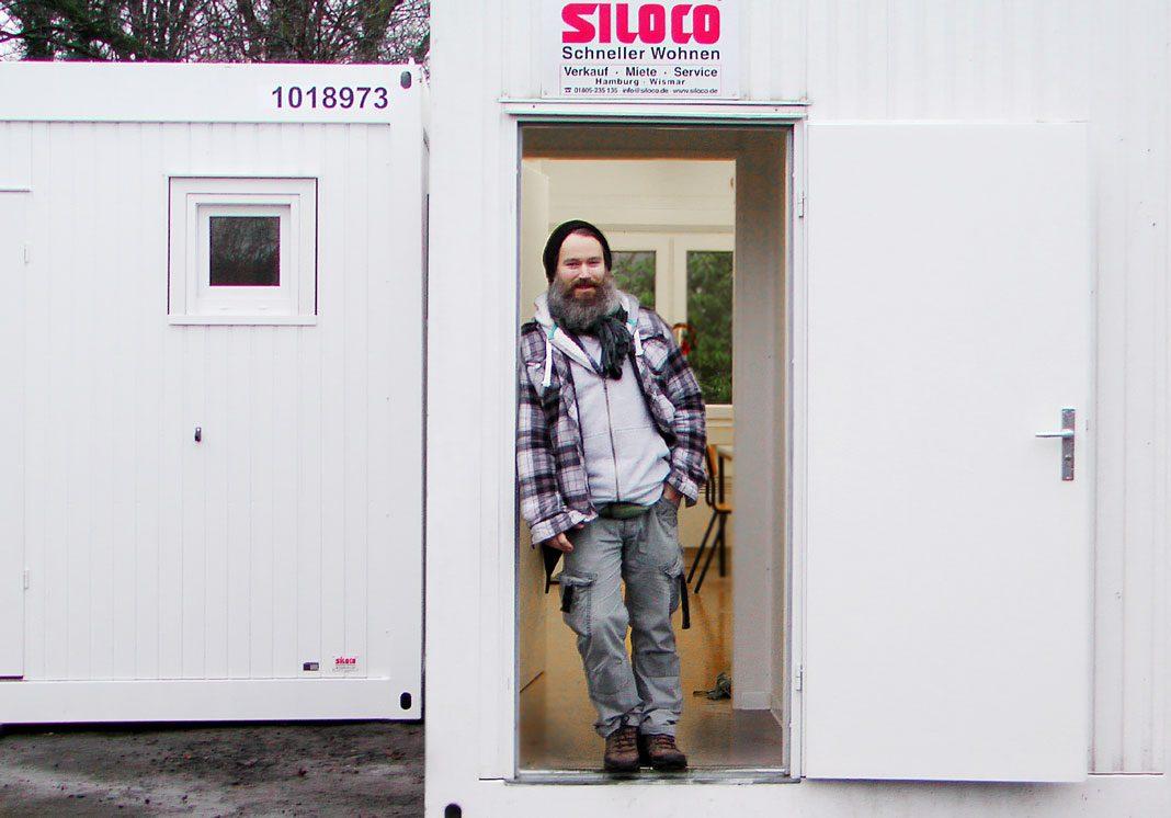 """Enchanting Container Aufstellen Ohne Baugenehmigung Ideas Of """"mein Traum: Ein Hamburg Obdachlose"""""""