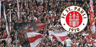 Auch die Fans des FC St. Pauli setzen ein Zeichen gegen überhöhte Eintrittspreise. Foto: Pressefoto Baumann GbR, Illustration: Robert Bauguitte