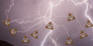 Bei einem Shitstorm geht es größtenteils um beleidigende Äußerungen von Nutzern sozialer Netzwerke. Foto: pixabay, Grafik: Jan Siemers