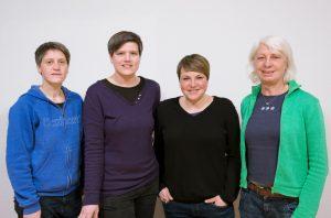 Mitarbeiterinnen des Tagestreff bei der Kemenate. Foto: Kemenate e.V.