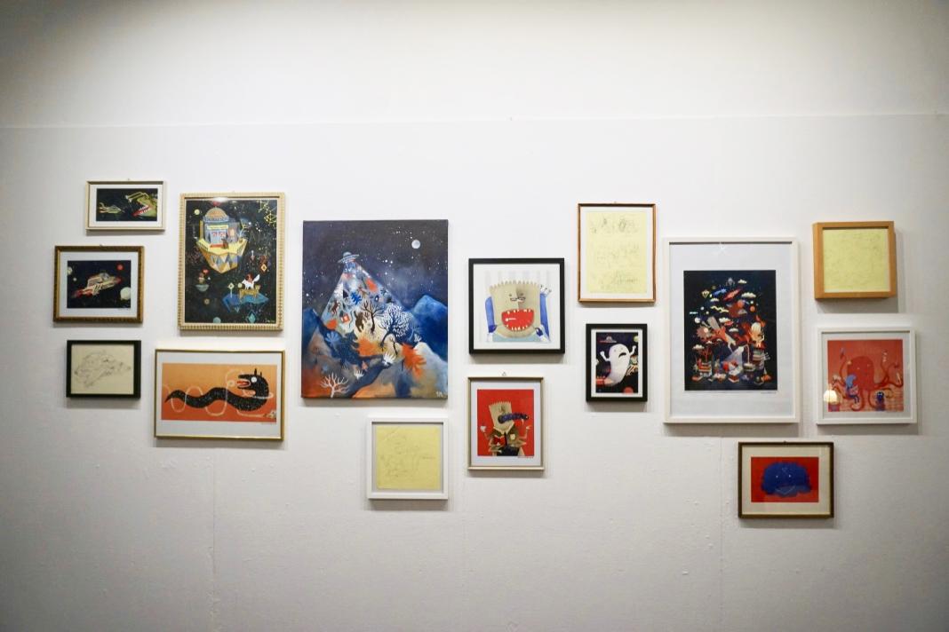 Masterausstellung HAW Hamburg Anfants Artspace