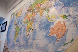 Weltkarte Schokogebiete