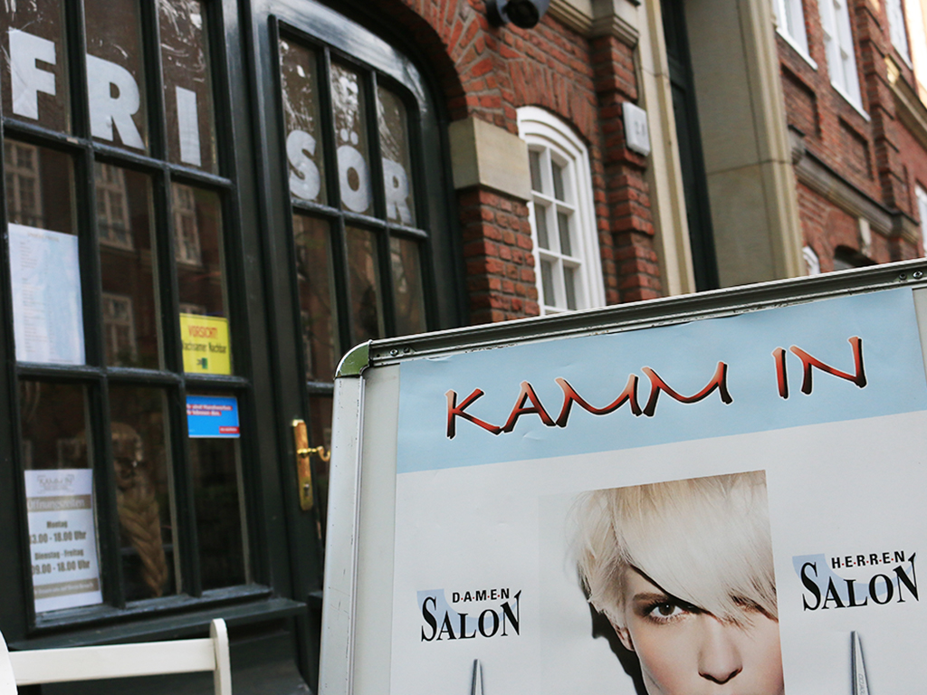 Friseursalon Kamm In