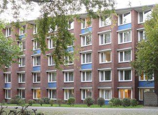Wohnheim an der Grindelallee.
