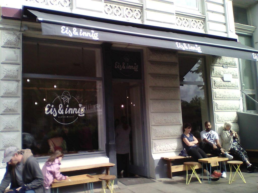 Eis&Innig in Eimsbüttel. Foto: nadine von Piechowski