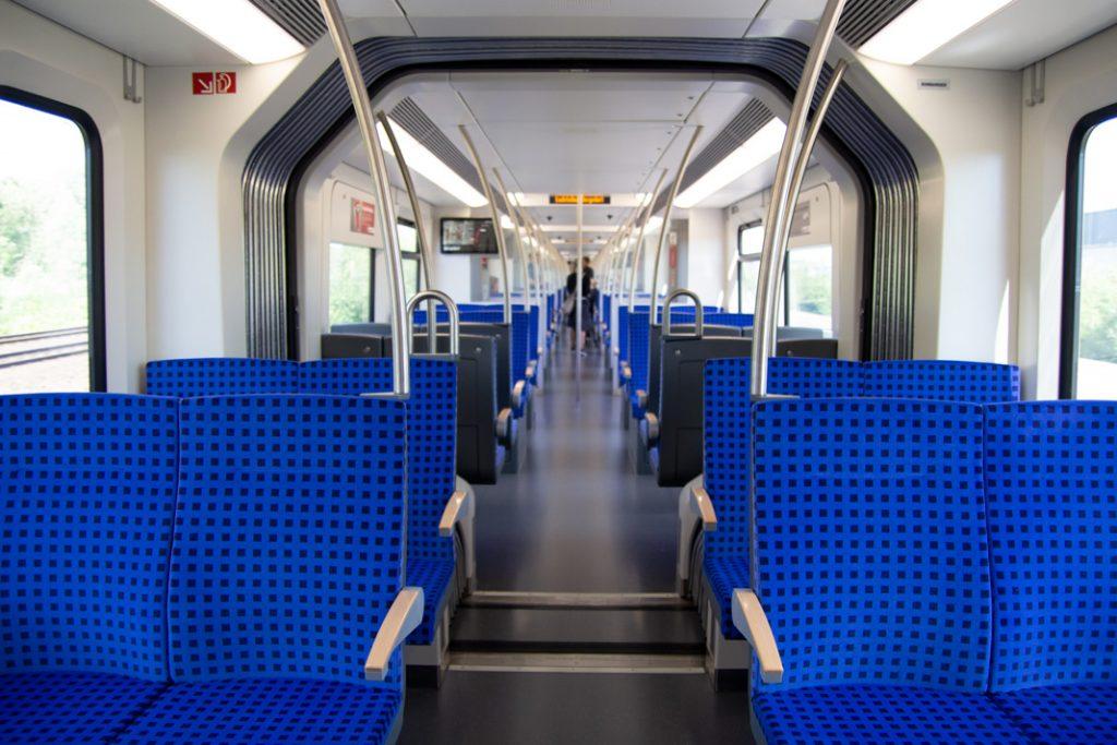 Die Innenansicht des neuen S-Bahn-Modells ET 490.