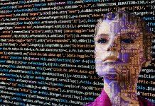 Roboter und Quellcode