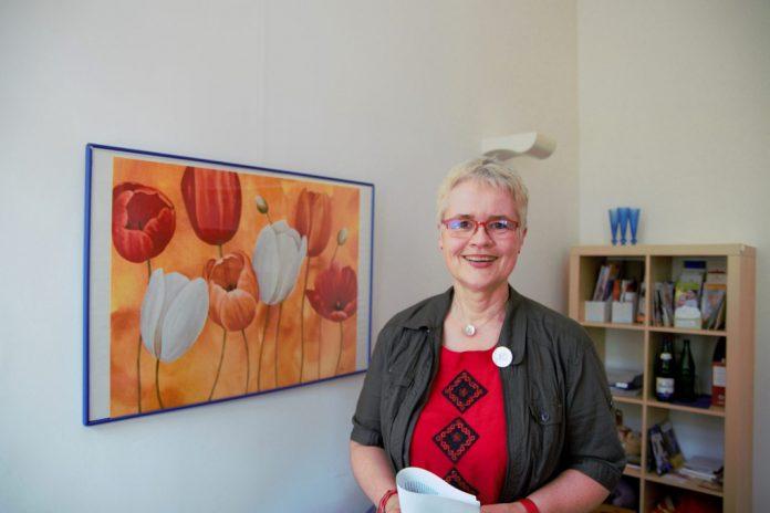 Kersten Artus, Vorsitzende Profamilia Hamburg kämpft für sexuelle Selbstbestimmung. Foto: Amelie Rolfs