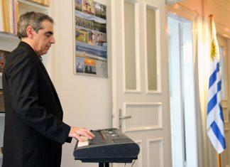 Klassische Musik im Generalkonsulat der Republik Östlich des Uruguay.