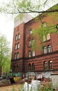 Das Gebäude der Genossenschaft Fux eG.