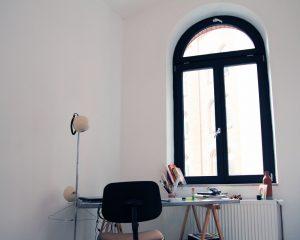Ein Zeichenraum im Gebäude der Genossenschaft Fux eG.