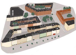 Hansaplatz Karte