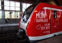 Neue S-Bahn im Bahnhof Dammtor