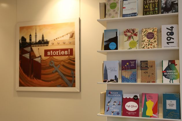 Buchhandlungen in Hamburg: stories im Hanseviertel