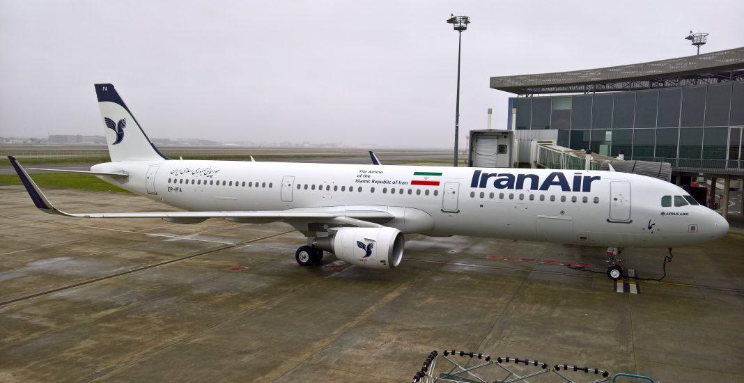 Ein Airbus A321 der iranischen Fluglinie