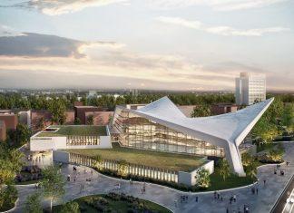 So soll die Alsterschwimmhalle 2024 aussehen. Foto: gmp Architekten und rendertaxi