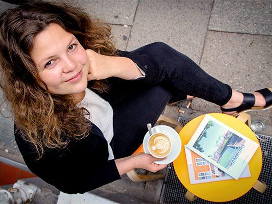 Harriet Dohmeyer - Gründerin vom Ankerwechsel Verlag.