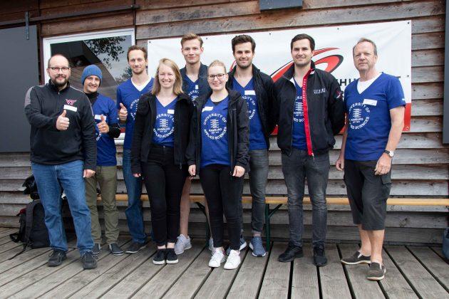 Das Team der HAW vor dem Start. Foto: Nadine von Piechowski