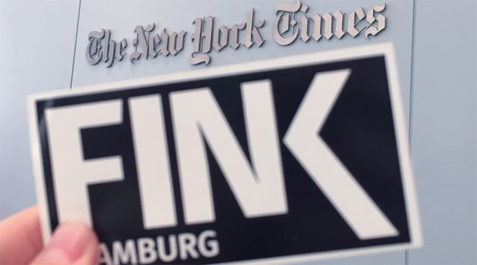 Eine FINK.Hamburg Redakteurin hat im Rahmen ihrer Fake-News Recherche unter anderem die New York Times besucht Foto: Hannah Lesch