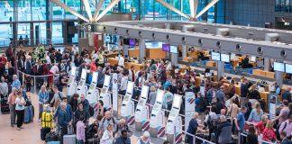 Betrieb am Flughafen Hamburg