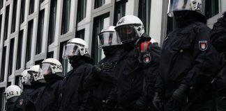 Polizisten auf dem G20-Gipfel