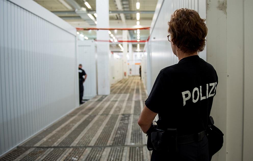 Gefangenensammelstelle bei G20-Gipfel