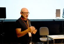 "Symposium das Projekt ""Healing Soundscape"" vor."