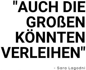 Zitat zu Fast Fashion von Sara Lagodni