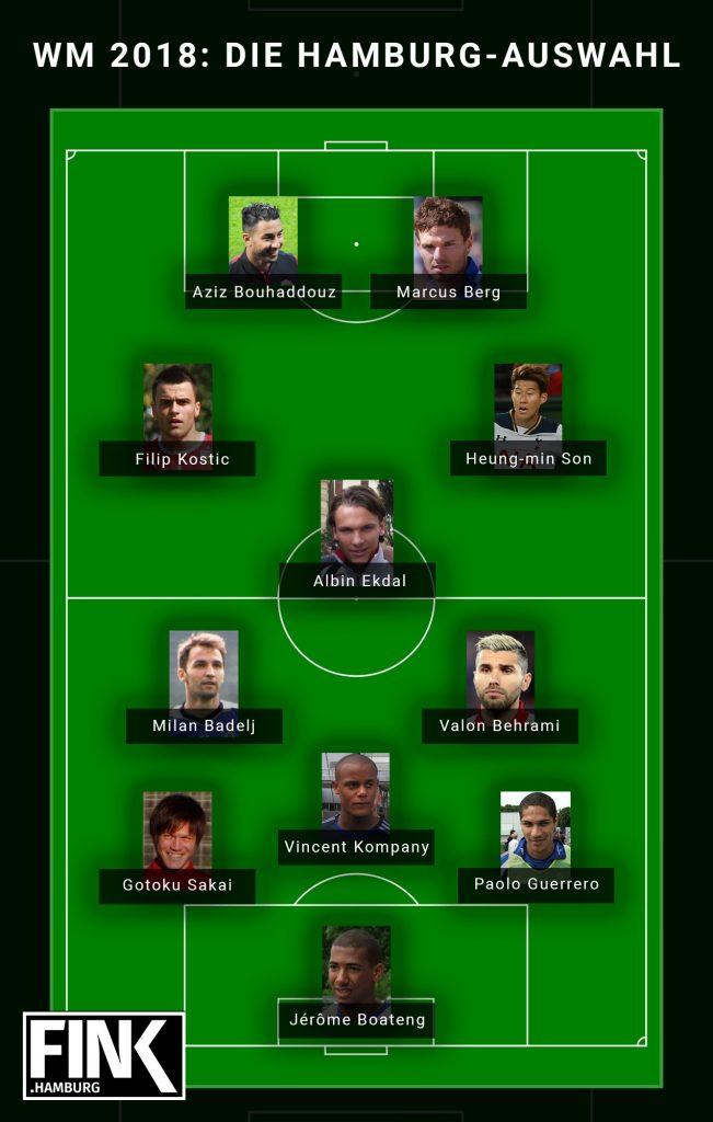 Hamburger Auswahl WM 2018
