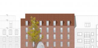 Architektenzeichnung des Hinz&Kunzt-Haus.