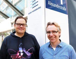Johannes Schratmann und Ralf Schattenreiter
