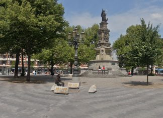 Der sanierte Hansaplatz (2011)