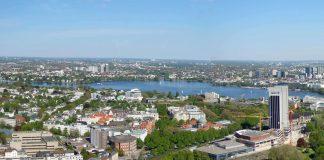 Blick vom Hamburger Fernsehturm