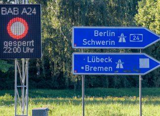 Der Hamburger Abschnitt der A24 wird wegen Bauarbeiten bis zum 04.08.2018 voll gesperrt.