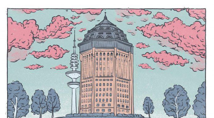 Schanzenpark Wasserturm Mövenpick-Hotel