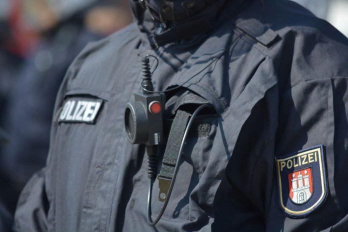 Polizeiangestellte in Hamburg