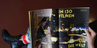 Symbolbild Frau liest Filmfest Programm